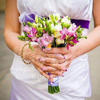 Букет невесты «Бэтти Сан»