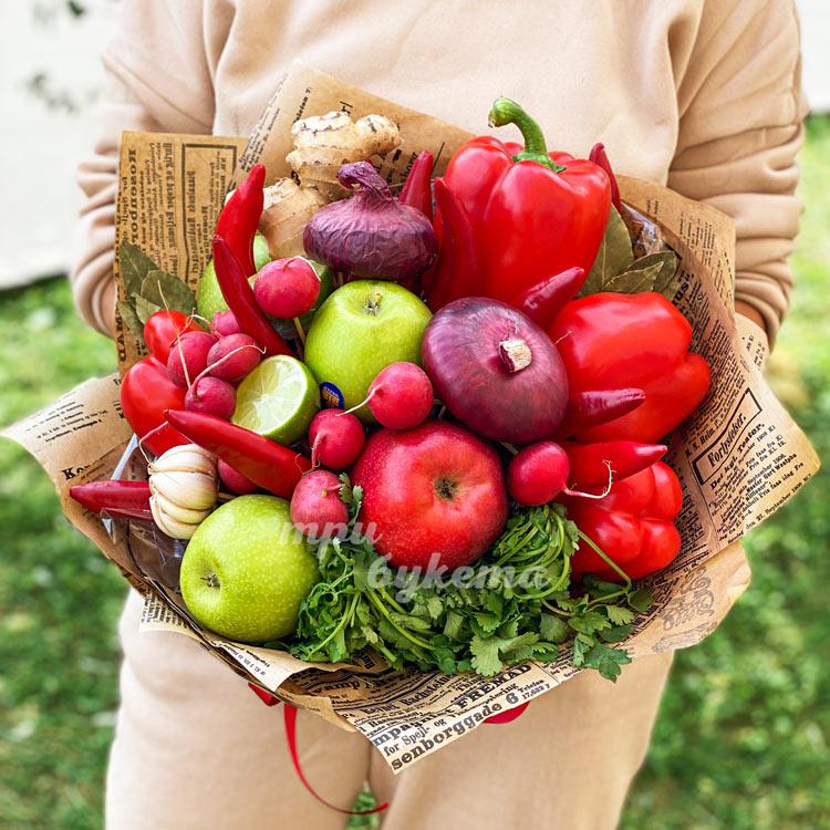 Букет овощной микс