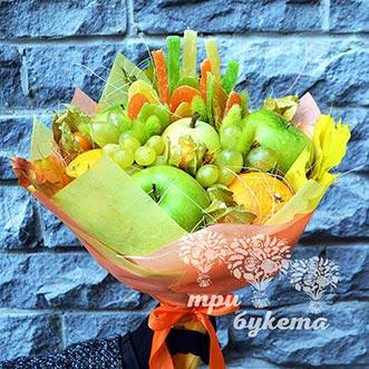 Букет их цукатов и фруктов